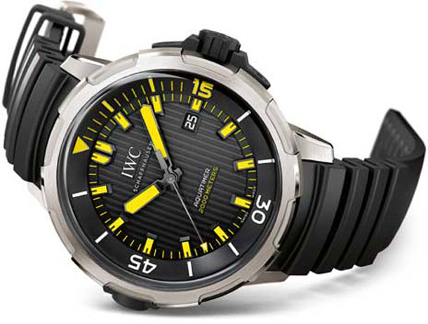 IWC Aquatimer Automatic 2000 копия часы