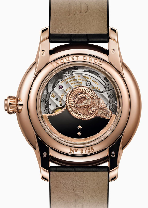 Jaquet-Droz-Ateliers-dArt-Petite-Heure-Minute-Year-of-the-Goat-red-gold-case-back