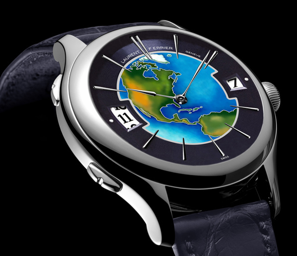 Laurent Ferrier Galet Traveller Enamel US Limited Edition-2