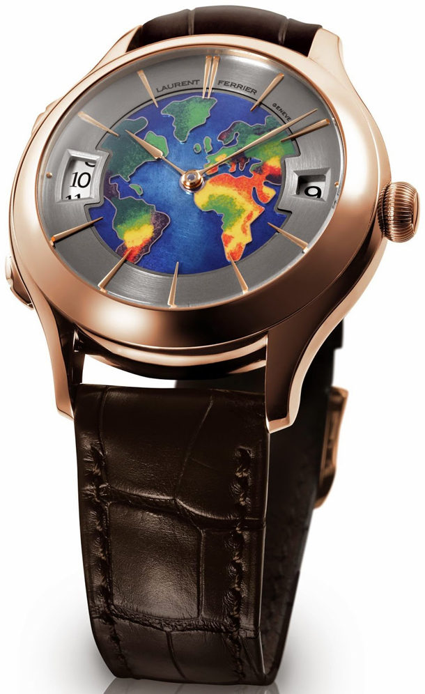 Laurent-Ferrier-Galet-Traveller-Globe-Red-Gold