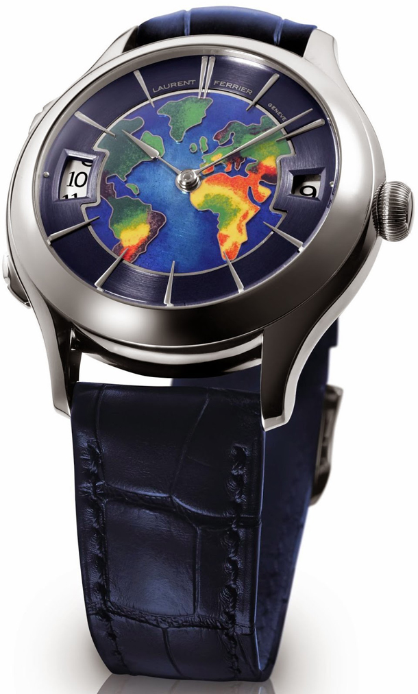 Laurent-Ferrier-Galet-Traveller-Globe-white-gold