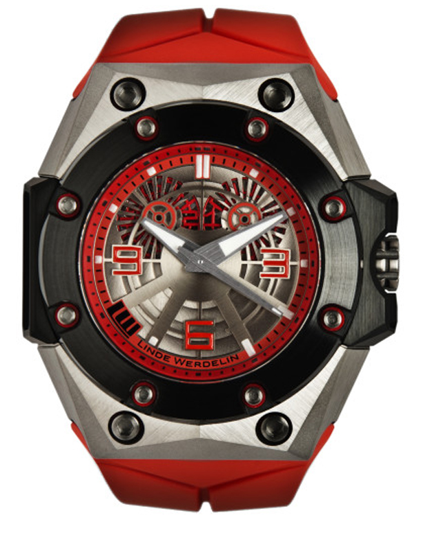 Linde-Werdelin-Oktopus-II-Double-Date-Titanium-Red-Watch