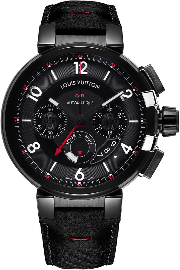 Louis-Vuitton-Tambour-eVolution-gmt-black-watches-1