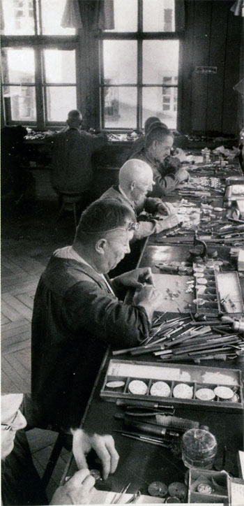 Watchmakers at Minerva