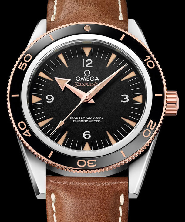 Omega-Seamaster-300-Master-Co-Axial-Chronometer-Leather-strap-2