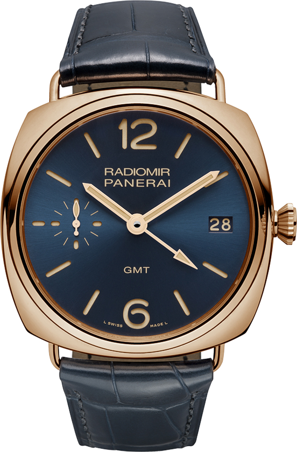 Panerai-Radiomir-3-Days-GMT-Oro-Rosso-PAM-598-watch