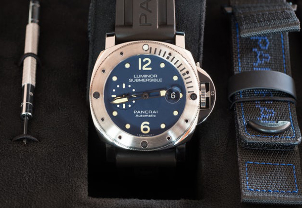 Panerai Limited Edition Luminor Submersible Acciaio PAM 00731-3