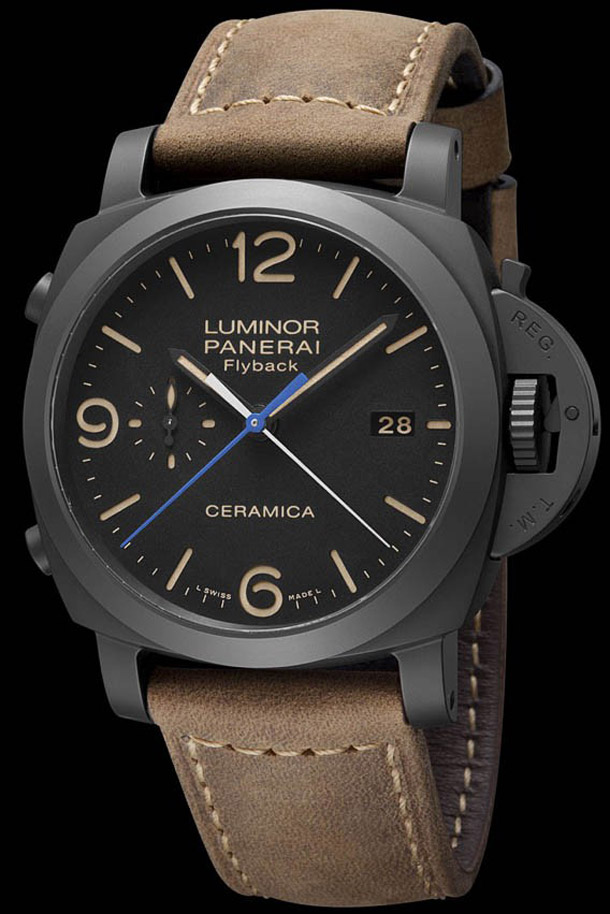 Panerai-Ceramic-Luminor-Flyback-Chrono-PAM-580