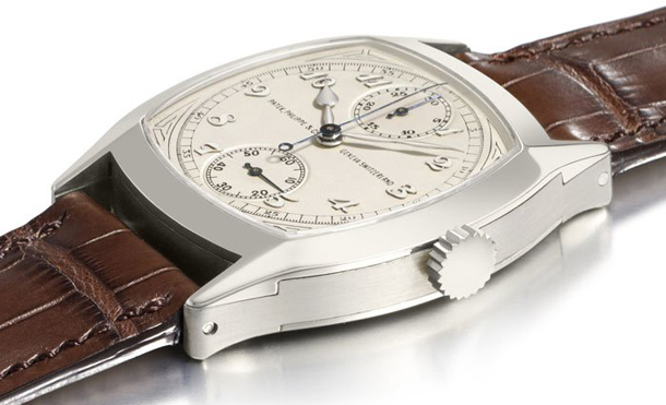 Patek Philippe/04.04.14/1/Patek-Philippe-Rare-Possibly-unique-18kwhitegold-cushion-shaped-monopusher-2