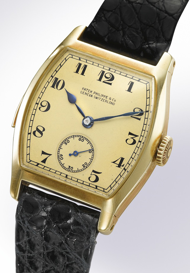 Patek Philippe/04.04.14/1/Patek-Philippe-Rare-THE-HENRY-GRAVES-JR-18K-YELLOW-GOLD-TONNEAU-MINUTE-REPEATER-Sothebys