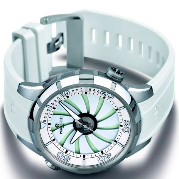 Perrelet-Turbine-Diver-White