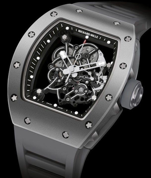 Richard-Mille-RM055-All-Grey-Bubba-Watson-Boutique-Edition