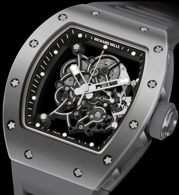 Richard-Mille-RM055-All-Grey-Bubba-Watson-Boutique-Edition-detail