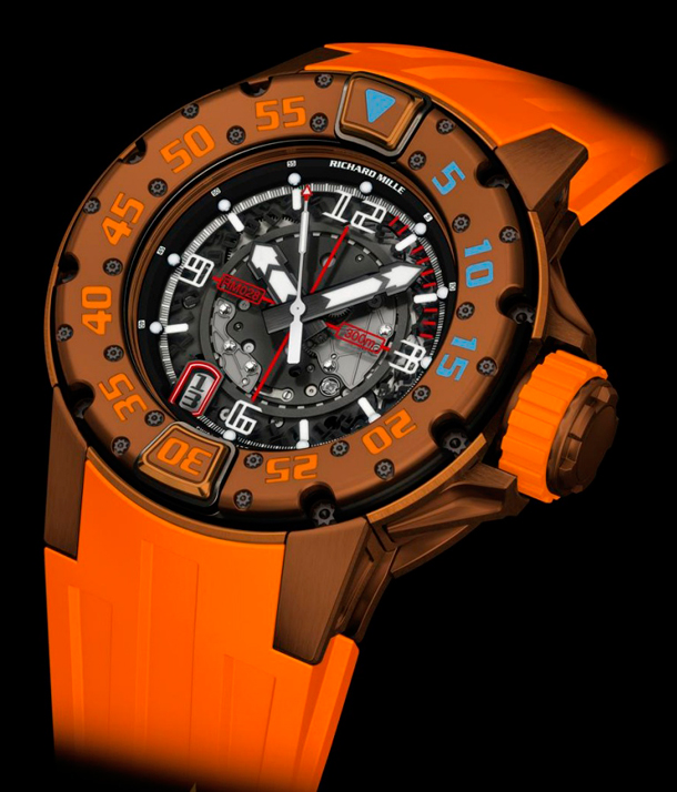 Richard_Mille_RM_028_Brown_PVD_Automatic