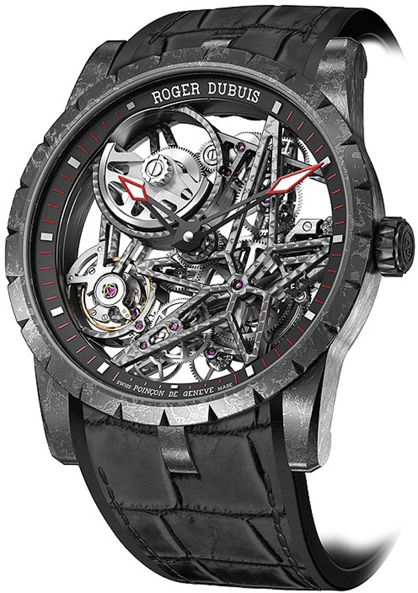Roger-Dubuis-Excalibur-Automatic-Skeleton-Carbon-angleview