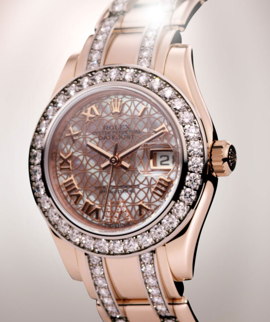 Lady-Datejust Pearlmaster / dz_GUILLIA