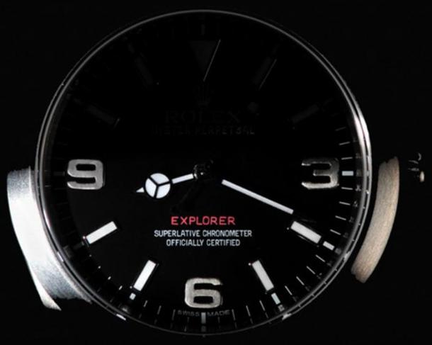 Rolex-HTE-Explorer-dial