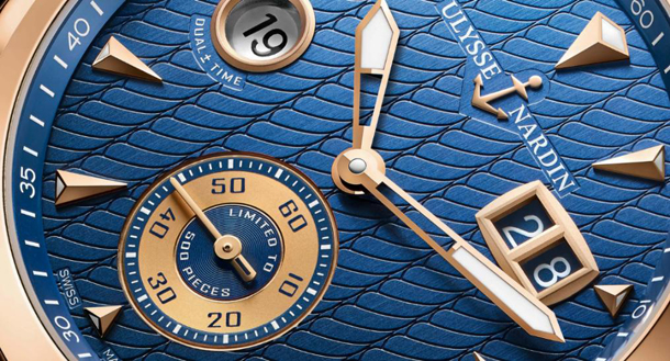 Dual Time Manufacture Ulysse Nardin