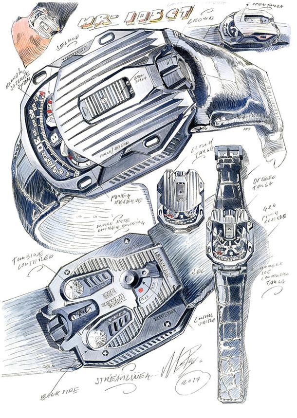 UR-105CT_Drawing
