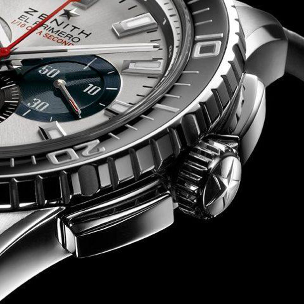 zenith-el-primero-stratos-flyback-striking-10th-automatic-chronograph-watch-crown-detail