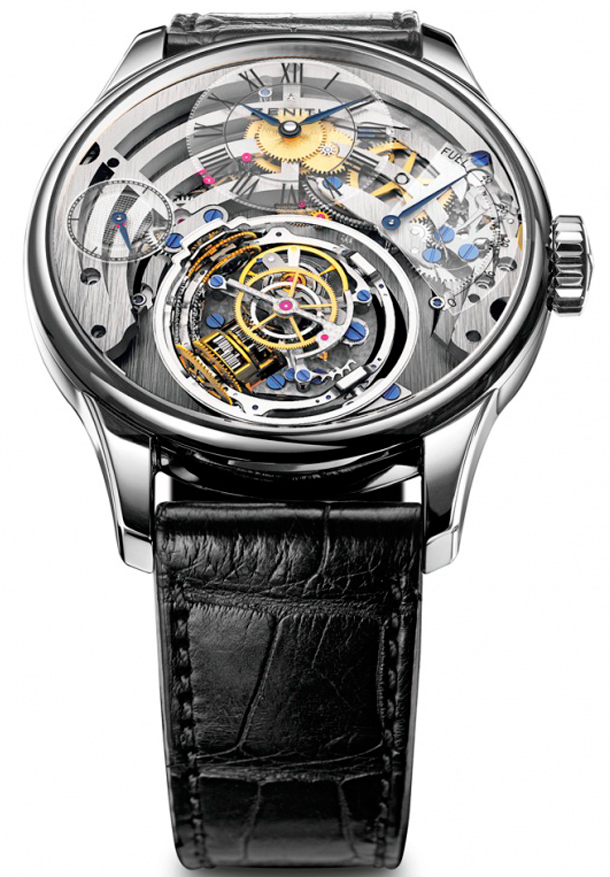 Zenith Christophe Colomb Skeleton
